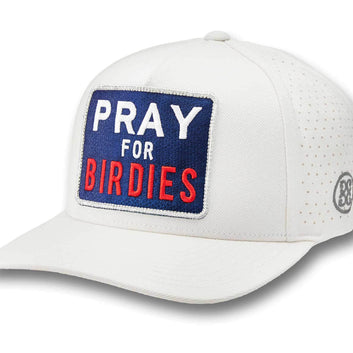 PRAY FOR BIRDIES SNAPBACK