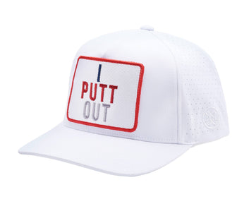 I PUTT OUT SNAPBACK