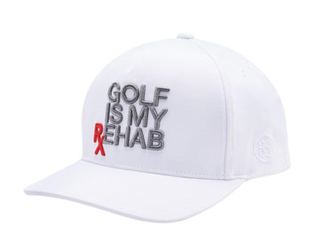 GOLF IS MY REHAB SNAPBACK