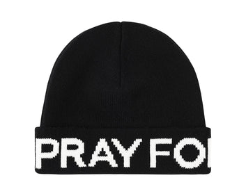PRAY FOR BIRDIES BEANIE (WITHOUT POM)