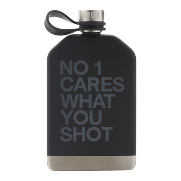 NO ONE CARES FLASK