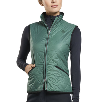 SWEATER LINED QUILTED VEST