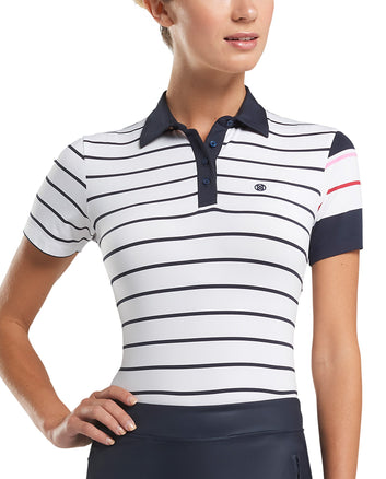 CONTRAST SLEEVE POLO