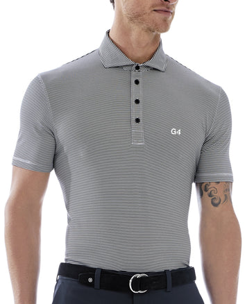 G4 FEEDER STRIPE POLO