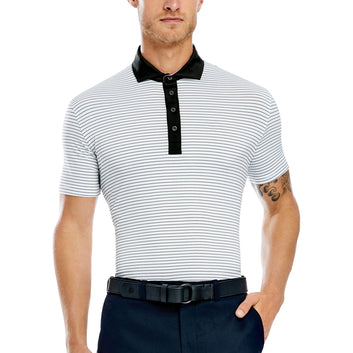 NARROW STRIPE POLO - NO LOGO