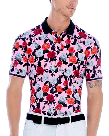 ROSES PRINTED POLO