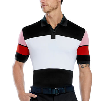 WIDE STRIPE POLO