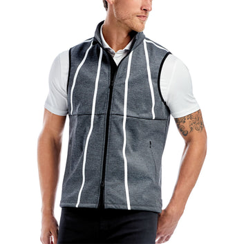 FLEECE BACKED VEST