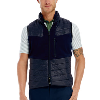 SWEATER PUFF VEST