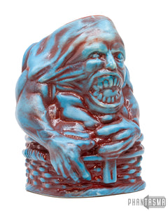 Basket Case Ceramic Mug - Blue Variant