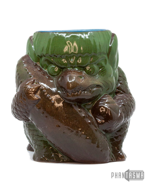 Kappa Ceramic Mug - Olive/Brown Variant