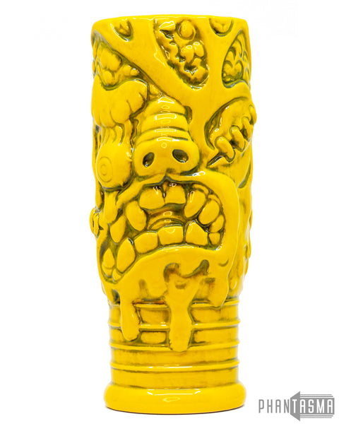 Monster Bat Ceramic Mug - Yellow Variant