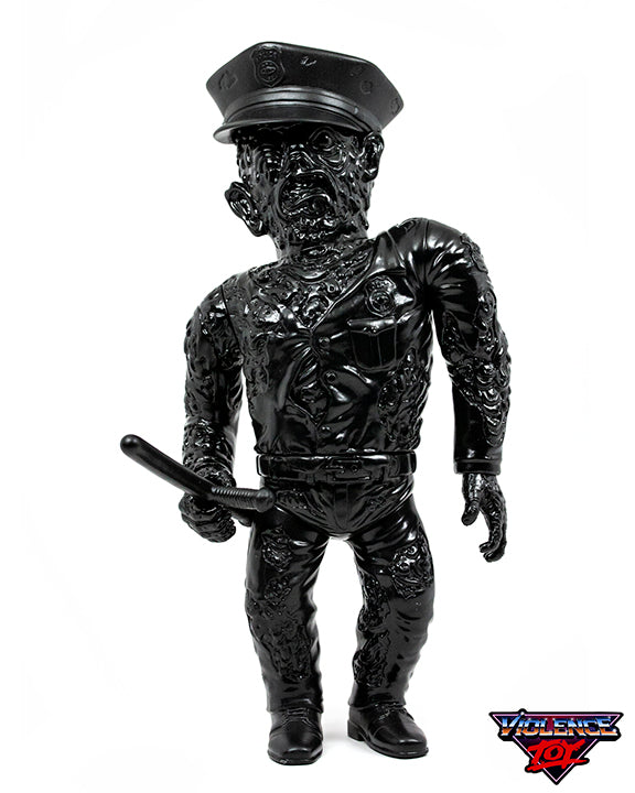 Mutant Cop Soft Vinyl Figure Black