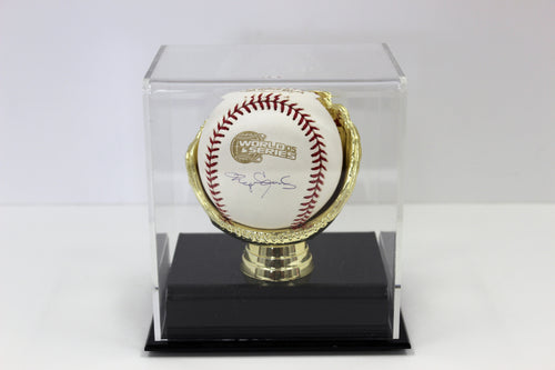 Display Case, Single Gold Glove Baseball Holder