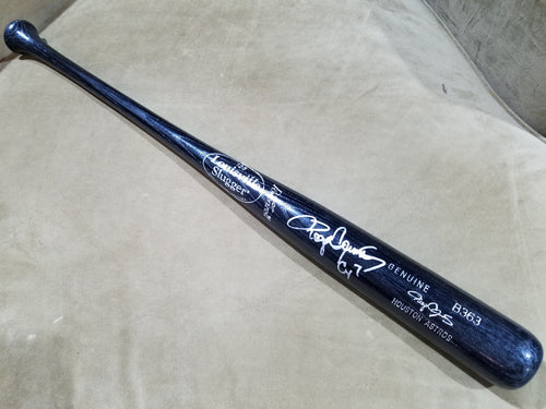 Astros Black Louisville Slugger Bat