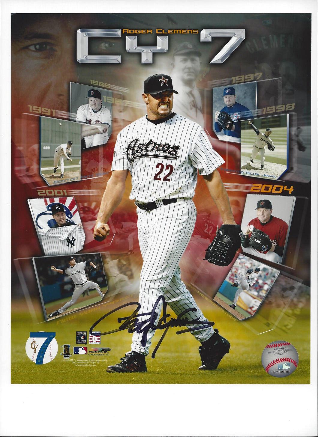 Roger Clemens CY7,