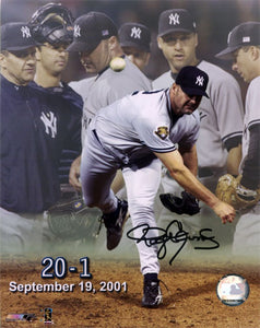 "NY Yankees ""20 - 1"" with Team in Background"