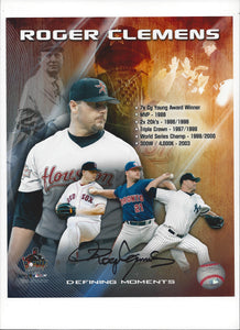 """Defining Moments"" of Roger Clemens' Career"