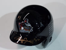 Rocketman Black Mini Helmet with Stats