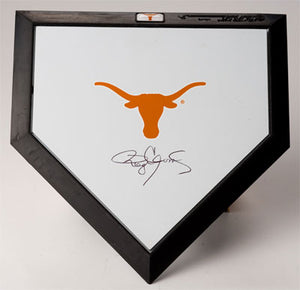 UT Longhorns Mini Home Plate