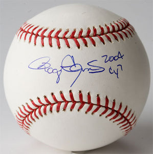 Baseball..MLB Baseball with CY7 and  2004 Inscription