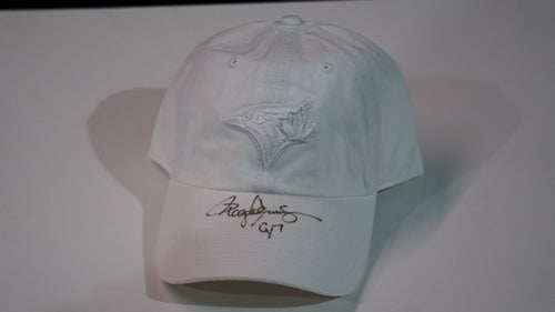 Toronto Blue Jays White Ladies Baseball Cap with CY7