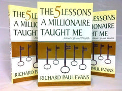 (Special Group Offer: Set of 10) The 5 Lessons a Millionaire Taught Me about Life and Wealth