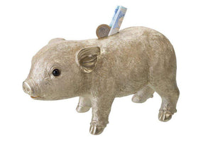 GIFTCOMPANY Sparschwein GIFTCOMPANY Sparschwein in Gold Metallic