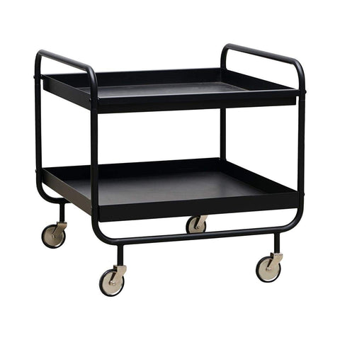 House Doctor Bücherregale & Trolleys House Doctor Trolley Roll Schwarz