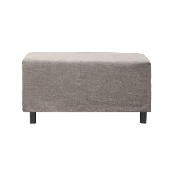House Doctor Hocker House Doctor Pouf Hazel Night Grau/braun