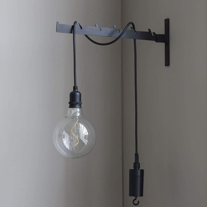 House Doctor Lampe Coso Schwarz
