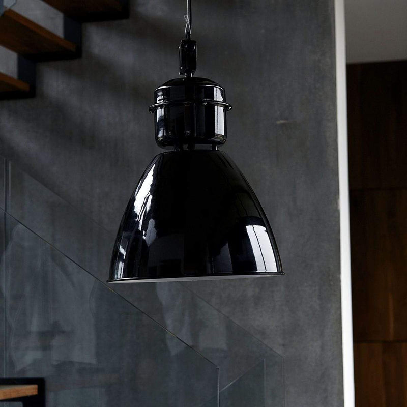 House Doctor Lampe Volumen Schwarz