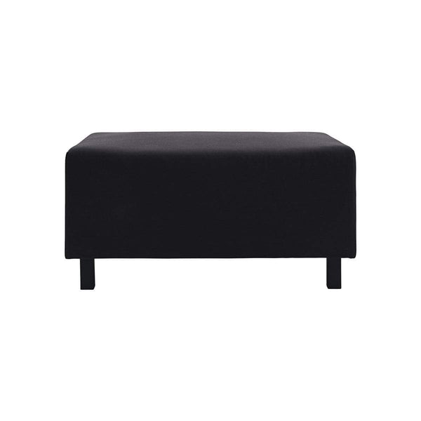 House Doctor Pouf Base Schwarz