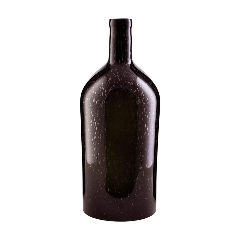House Doctor Vase Bottle Dunkelbraun