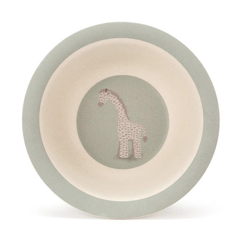 Jellycat Dinner - Set aus Bambus Giraffe Joey