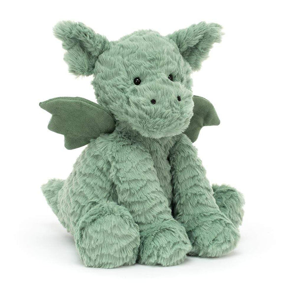 Jellycat Kuscheltier Jellycat Fuddlewuddle Dragon in Mintgrün, 23 cm