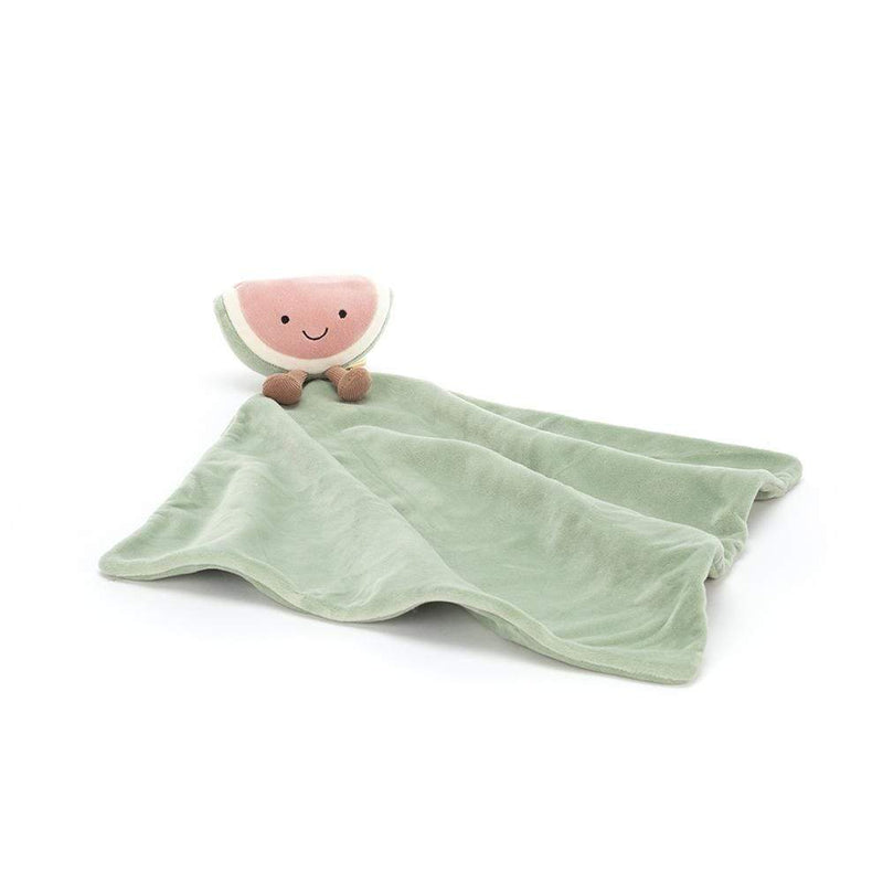 Jellycat Schmusetuch Amuseable Watermelon, 34 x 34 cm