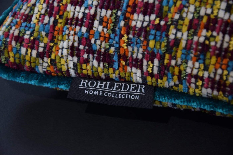 ROHLEDER HOME COLLECTION Kissenhülle Rainbow Coco - Tweed