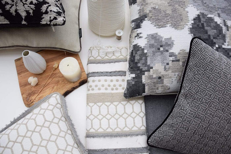 ROHLEDER HOME COLLECTION Kissenhülle Boho Grid - Day
