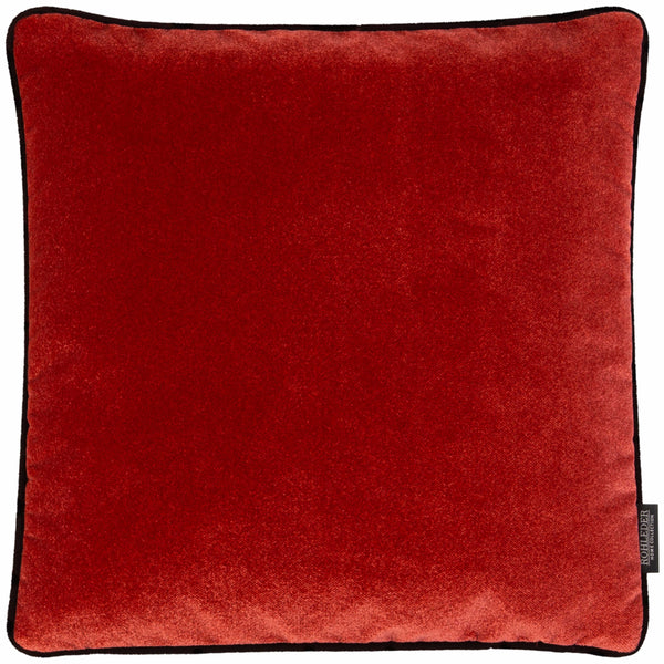 ROHLEDER HOME COLLECTION Cloud Kissenhülle Uni - Strawberry Rot