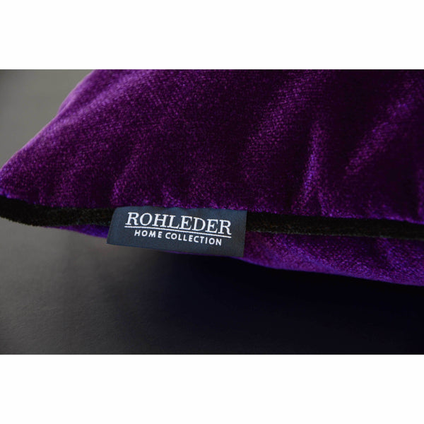 ROHLEDER HOME COLLECTION Cloud Kissenhülle Uni - Grape Lila