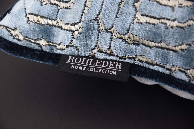 ROHLEDER HOME COLLECTION Creation Kissenhülle Maze - Hellblau