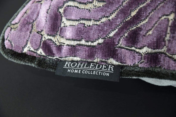 ROHLEDER HOME COLLECTION Creation Kissenhülle Maze - Purple Lila