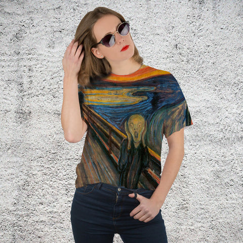 Unisex The Scream All Over Printed T-Shirt