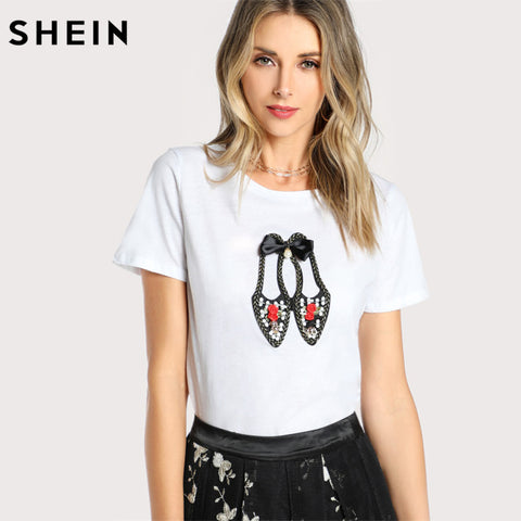 Women's Vintage Shoes T-Shirt
