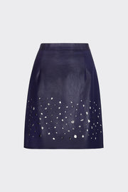 Charlotte Laser Cut Mini Skirt