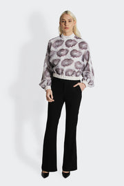 Flora Silk Blouse