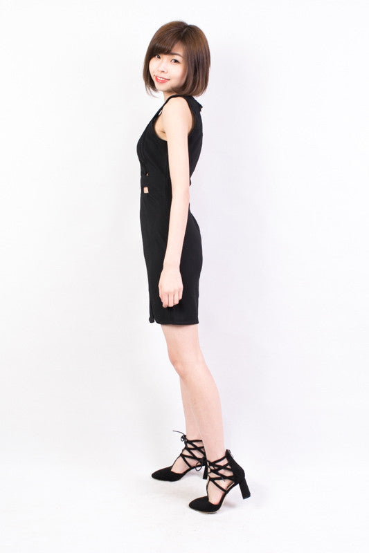 Cut Out One Piece Dress , dresses - Trinity Styles, Trinity Styles  - 2