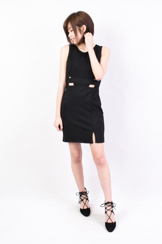 Cut Out One Piece Dress , dresses - Trinity Styles, Trinity Styles  - 1