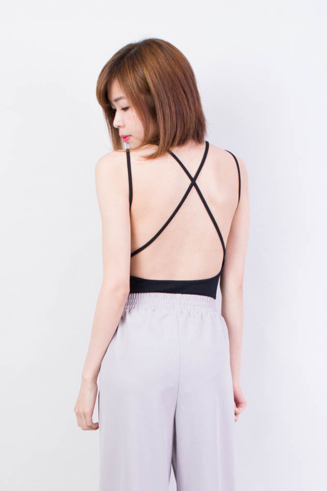 Criss Cross Back Tank Top , tops - Trinity Styles, Trinity Styles  - 1